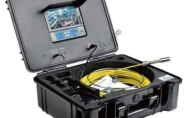 Caméra d'inspection dans les canalisations