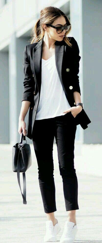 look minimaliste femme 14