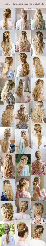 35 coiffures de mariage pour tre la plus belle for Belle boutique de mariage