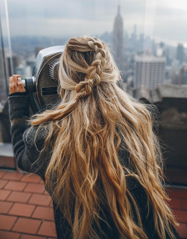 coiffure simple et rapide pour ado fille
