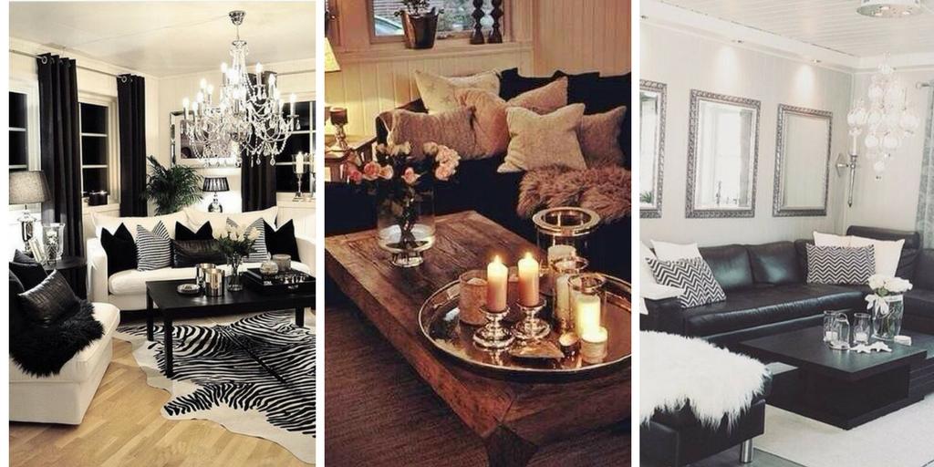Décoration Noir Et Blanc Pour Salon En 25 Idées Qui Plaisent Et Inspirent