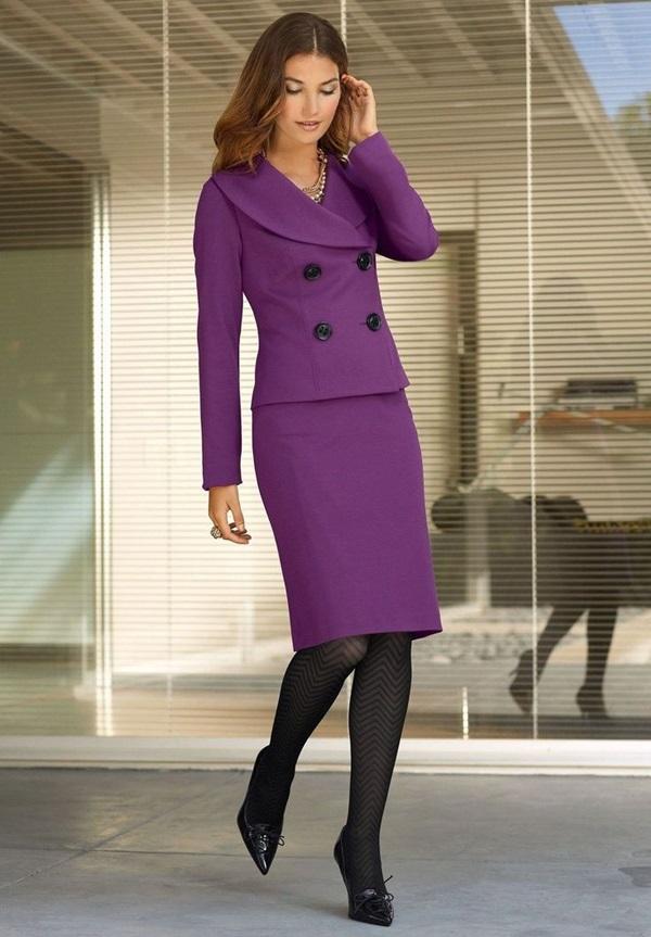 20 id es adorables des tenues de travail pour femme. Black Bedroom Furniture Sets. Home Design Ideas
