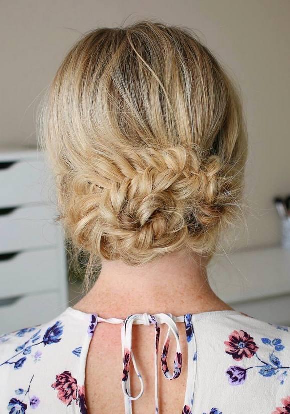 coiffures de mariage 30
