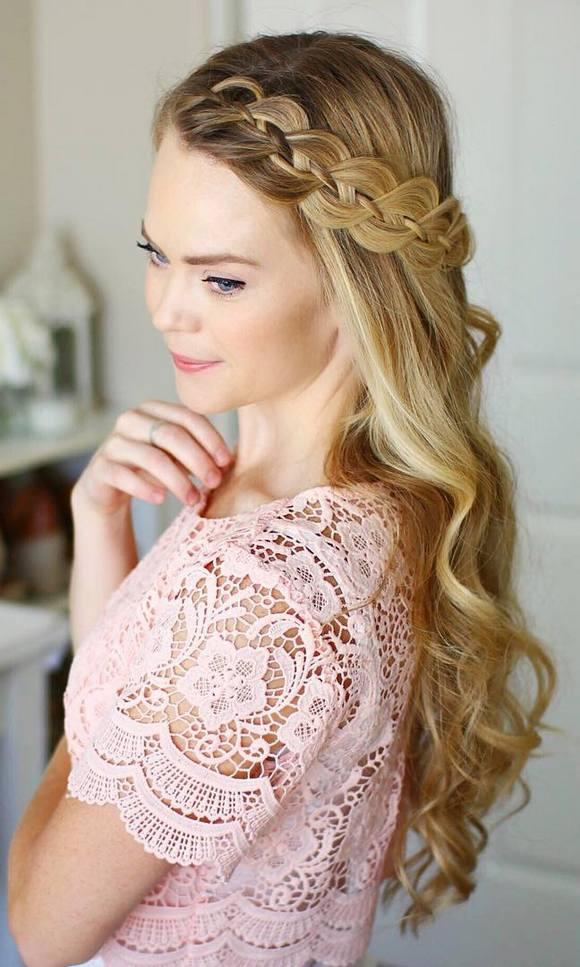 coiffures de mariage 34