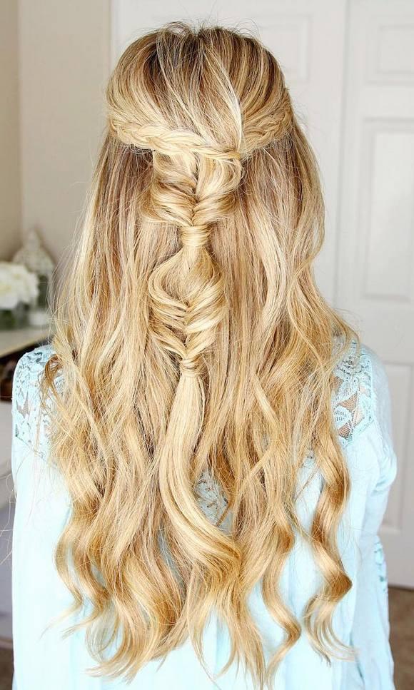 coiffures de mariage 35