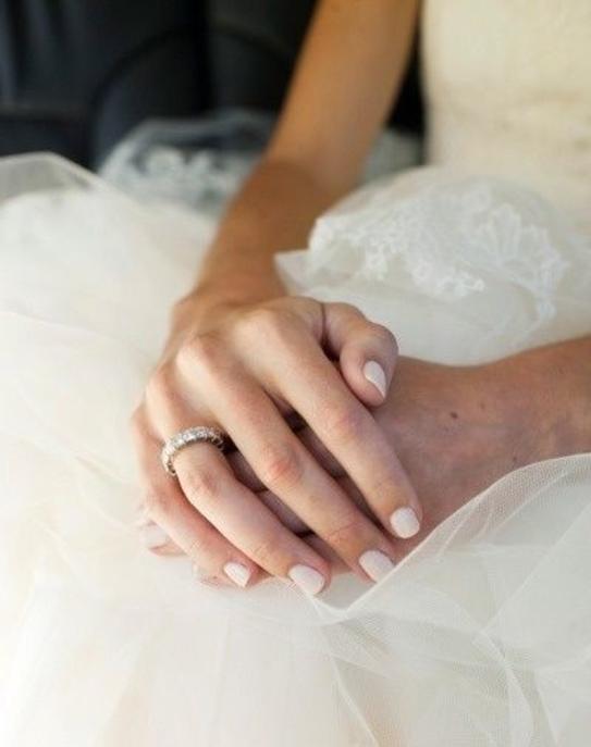 manucures parfaites pour le jour du mariage