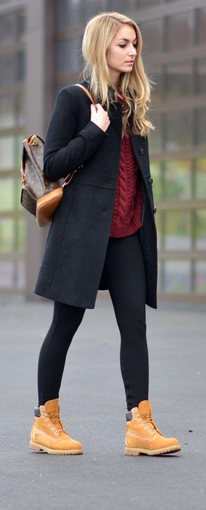style vestimentaire femme avec timberland