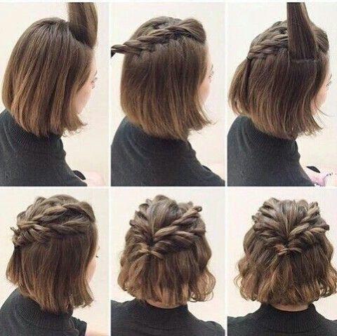 tutos coiffures faciles à faire