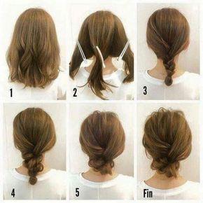 tutos coiffures faciles à faire6