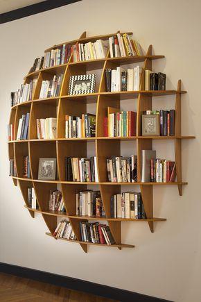 Bibliothèque design & Étagère design