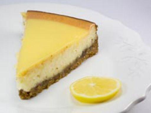 Cheese cake au citron palets bretons et mascarpone