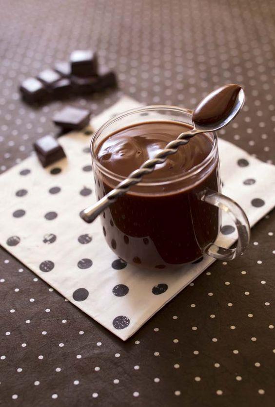 LE CHOCOLAT CHAUD ITALIEN ÉPAIS