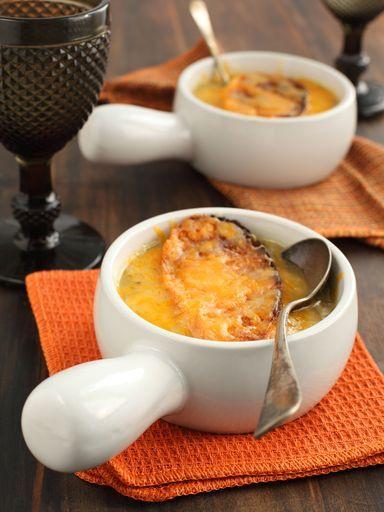 20 recettes de soupes pour l 39 hiver - Soupe a oignon maison ...