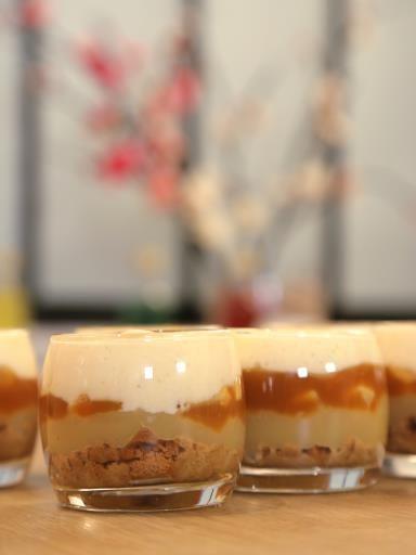 Tiramisu pomme caramel beurre salé
