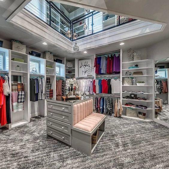 dressing moderne et luxueux