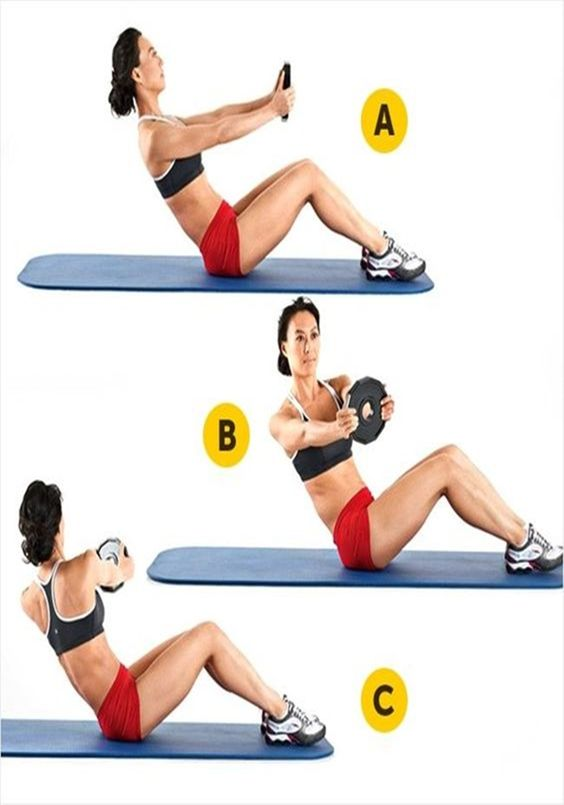 exercices pour les abdominaux