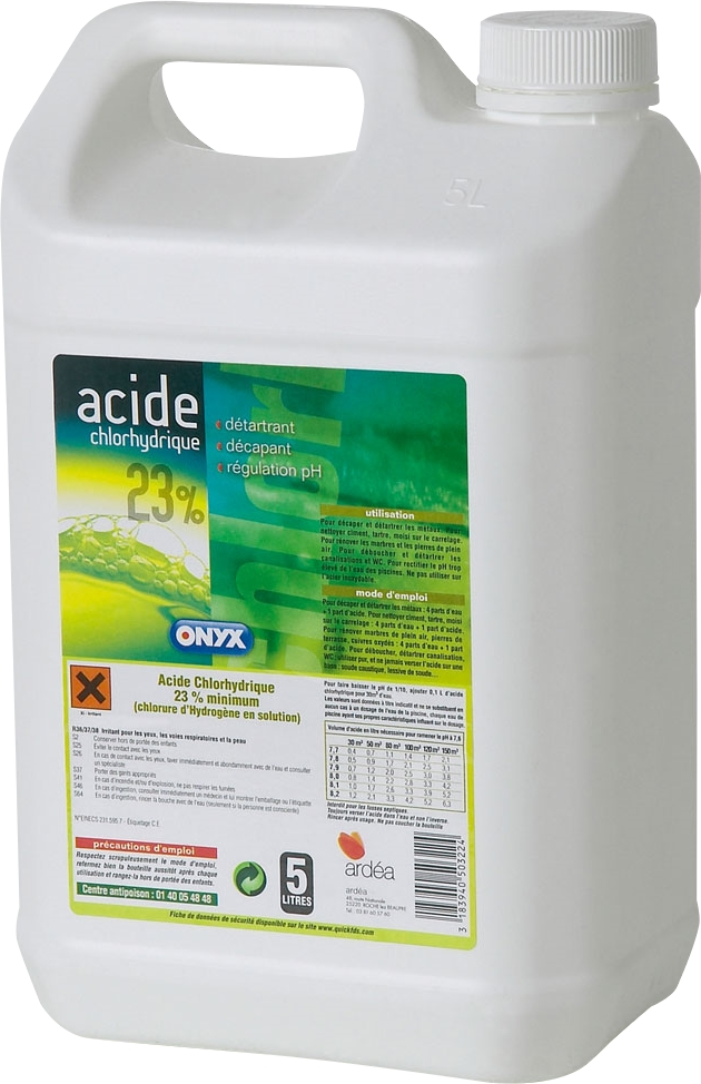 141dc745649 Acide Chlorhydrique Nettoyage comment nettoyer avec de l acide chlorhydrique
