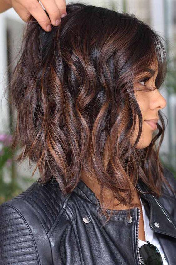 Cheveux Mi Longs Dégradés 22 Modèles Les Plus Fashion
