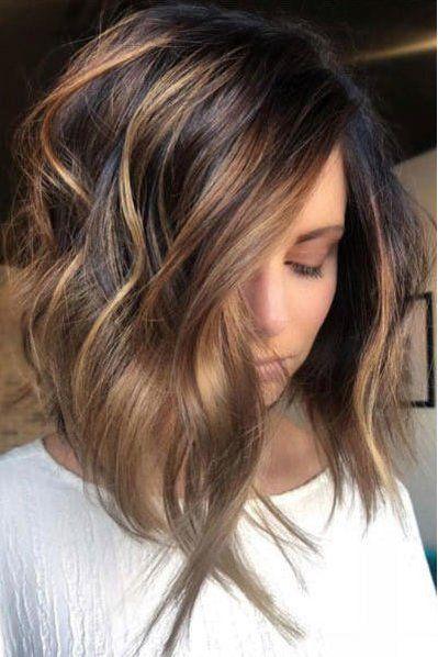 Beach wave cheveux mi long
