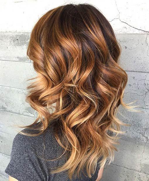 Cheveux Mi-longs Dégradés