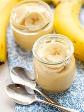 Crème rapide à la banane