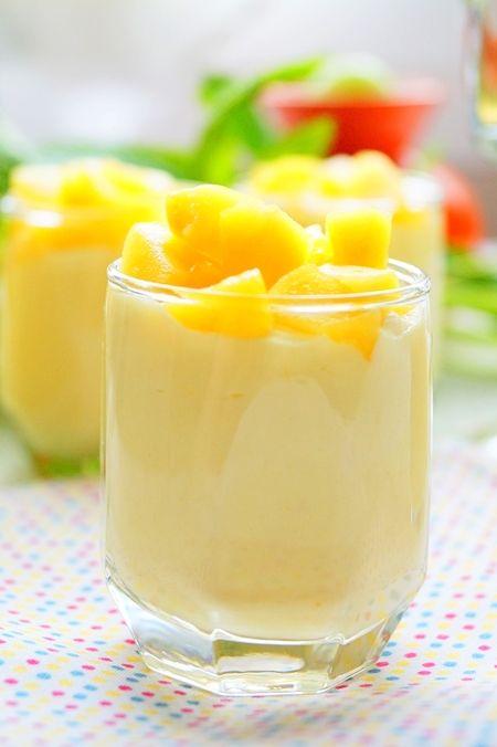 mousse à la mangue facile et inratable