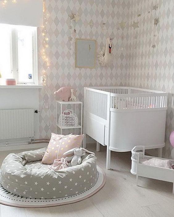 Delightful Newborn Baby Room Decorating Ideas: 32 Idées De Décoration Pour Une Chambre D'enfant Moderne