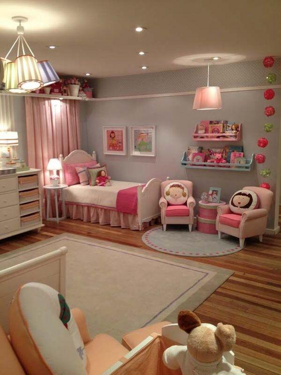 32 id es de d coration pour une chambre d 39 enfant moderne. Black Bedroom Furniture Sets. Home Design Ideas