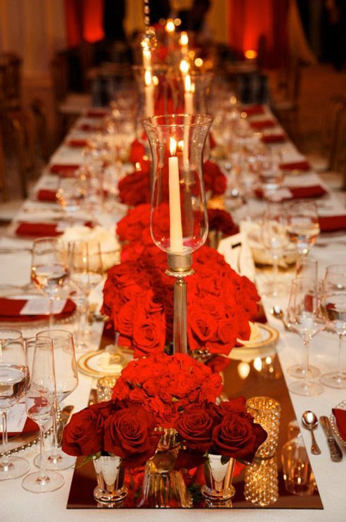 Best 25 Red Gold Weddings Ideas On Pinterest Rose Wedding Decorations And
