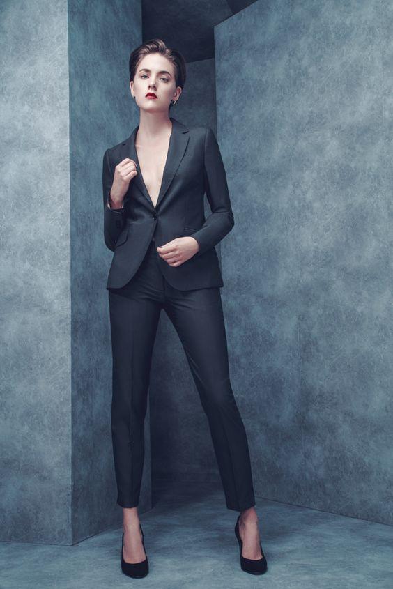 tailleur pantalon pour femme
