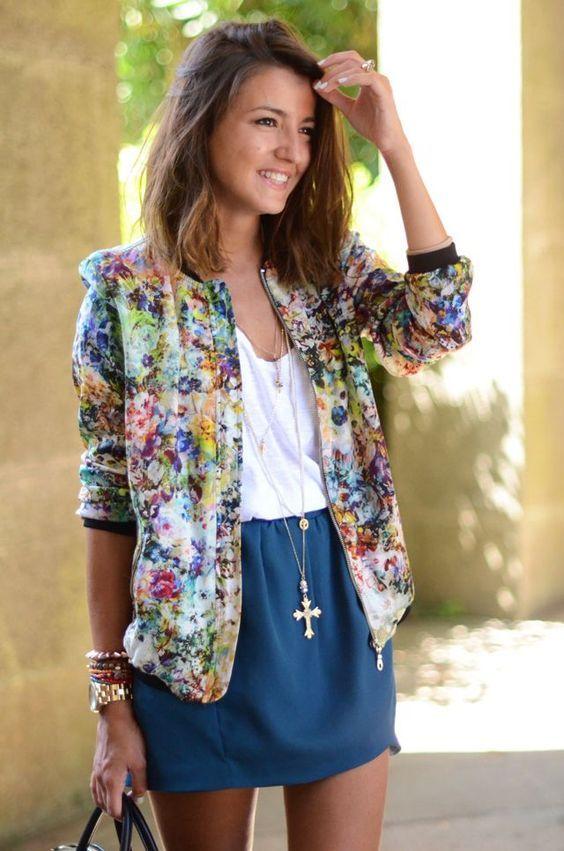 veste pour le printemps