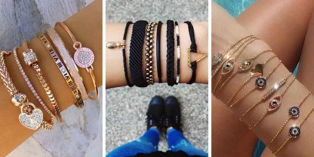code promo af03e 4f81d 20 modèles fantaisies de bracelet tendance 2018 pour femme