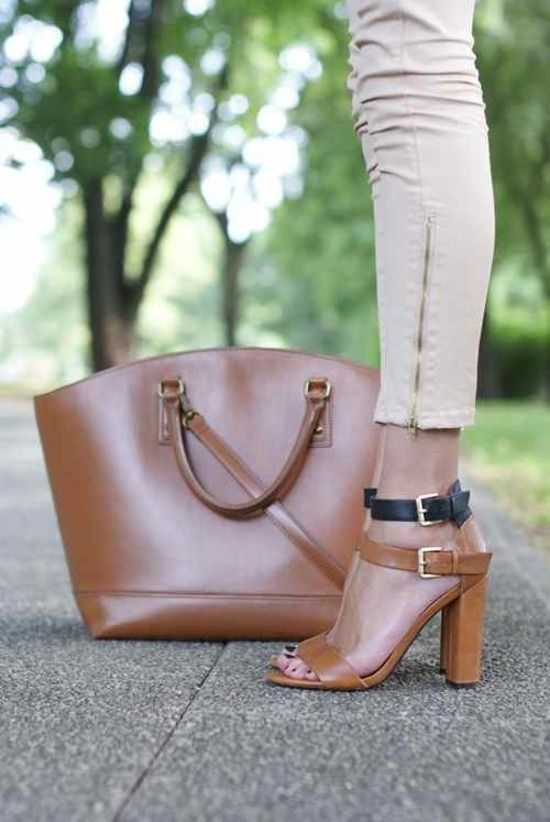 Sacs et chaussures assortis
