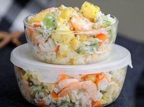 Salade hawaienne délicieuse