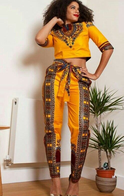 couture africaine chic