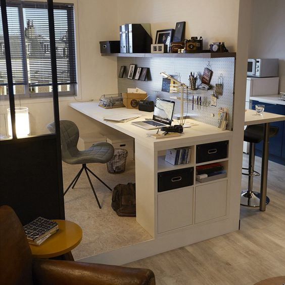 designs uniques de bureau suspendu