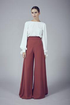 pantalons larges