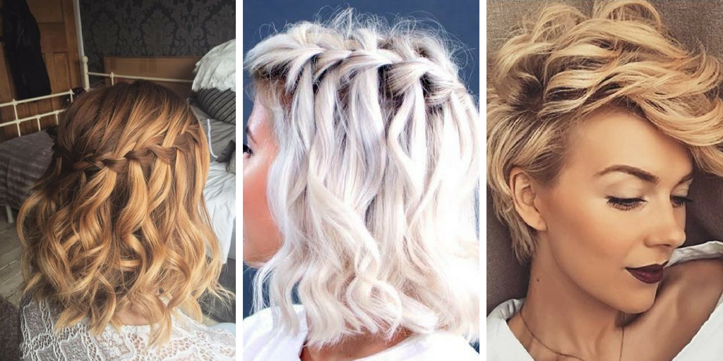 20 Belles Coiffures Faciles Sur Cheveux Courts