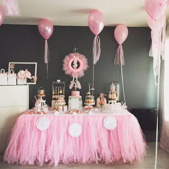 décoration de table d'anniversaire