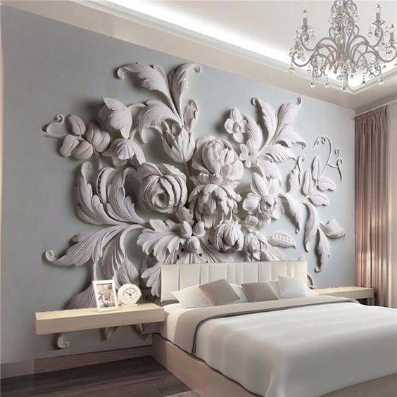 15 id es pour une d coration murale originale. Black Bedroom Furniture Sets. Home Design Ideas