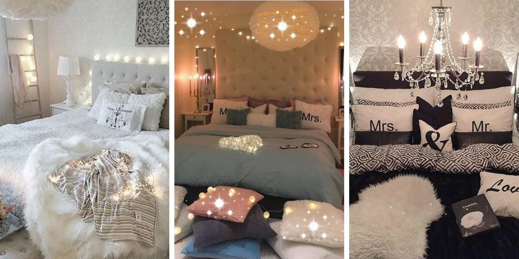 19 idées originales de décoration pour une chambre romantique