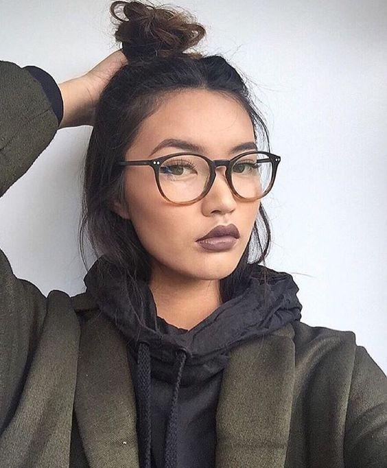 20 id es des lunettes de vue pour femme tendance 2018. Black Bedroom Furniture Sets. Home Design Ideas