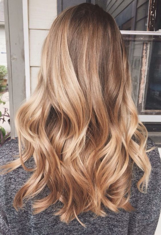 nuances de blond