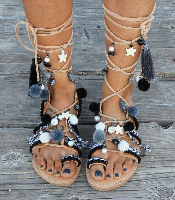 sandales pour l'été de 2018