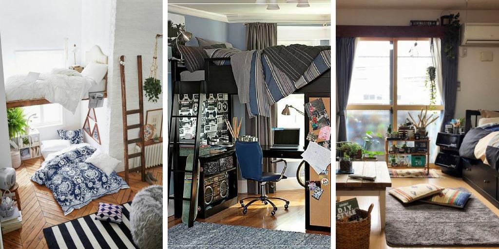 20 Idées de décoration originale pour chambre d\'étudiant