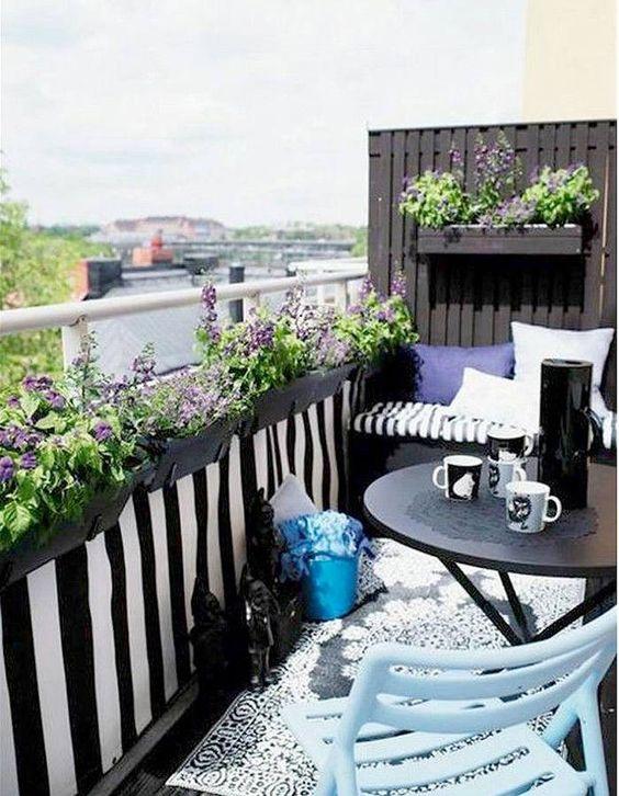 façons de décorer votre balcon