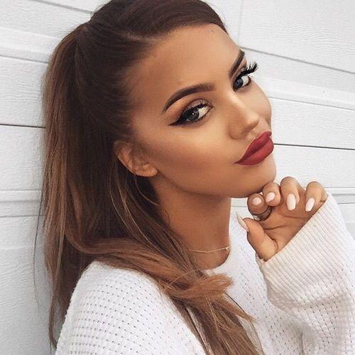 maquillage parfaites pour les brunes