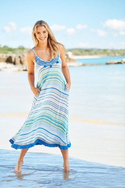 robe de plage longue