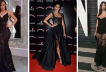 robes soirée noires tendance 2018