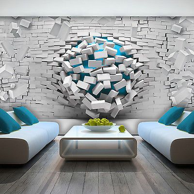 30 Modeles De Papier Peint 3d Pour Une Decoration Murale Originale
